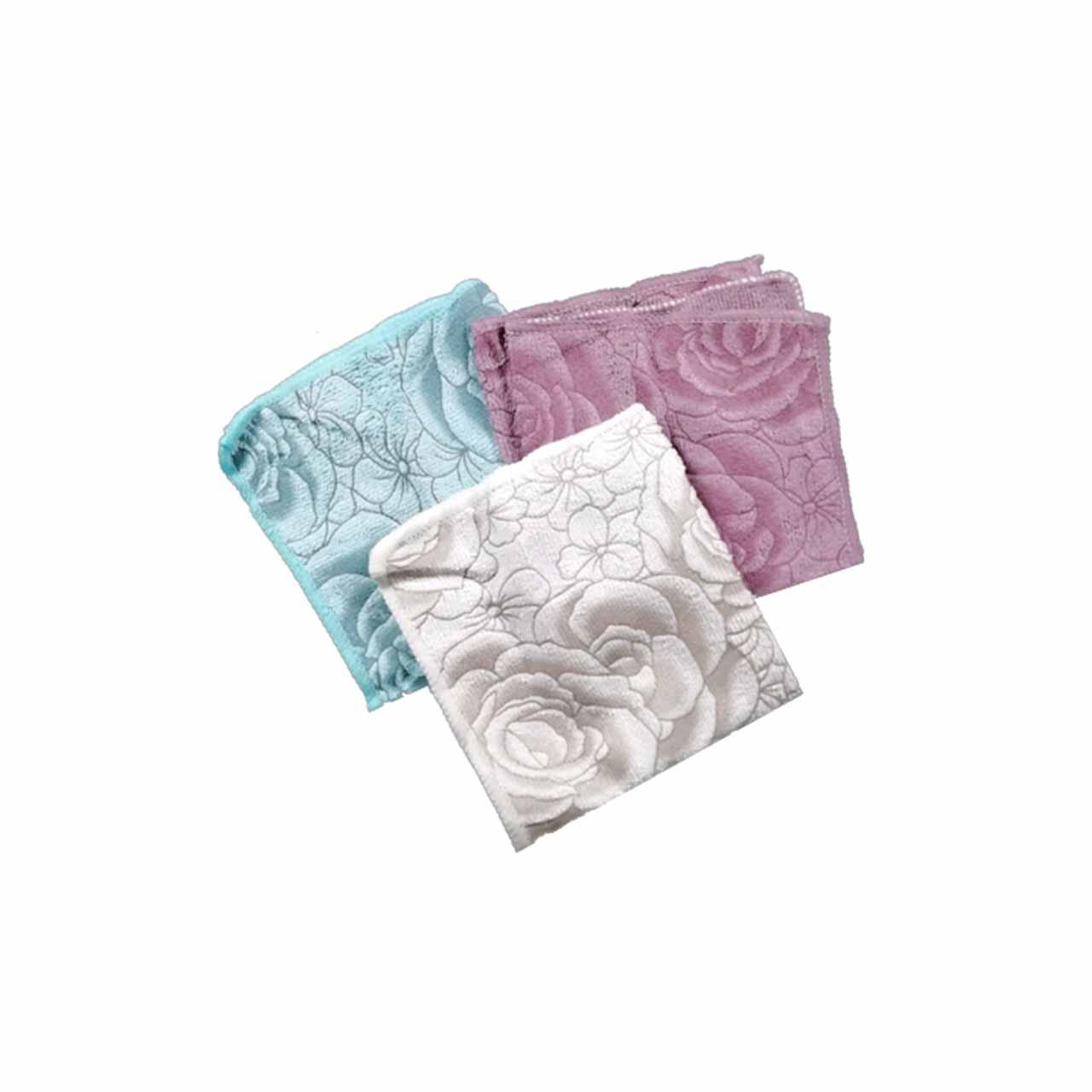دستمال حوله ای گلدار بای لاو