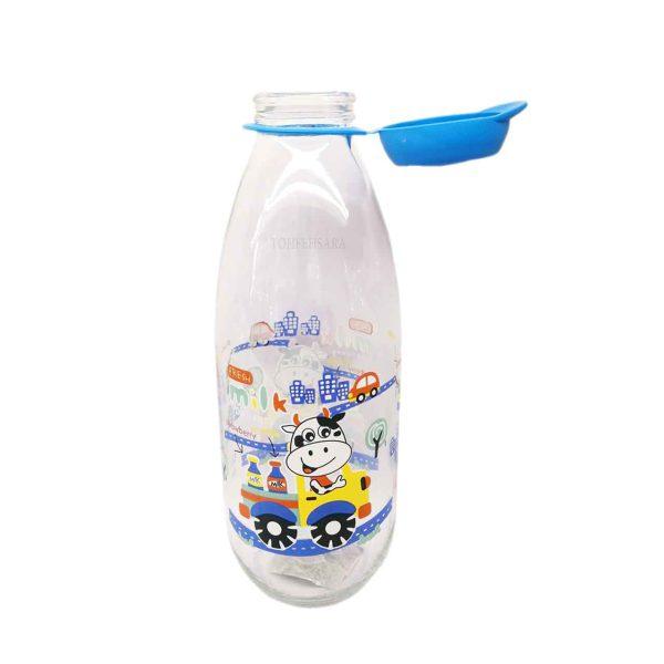 بطری شیر درب پلاستیک هروین