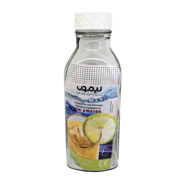 بطری کتابی در پیچ لیمون