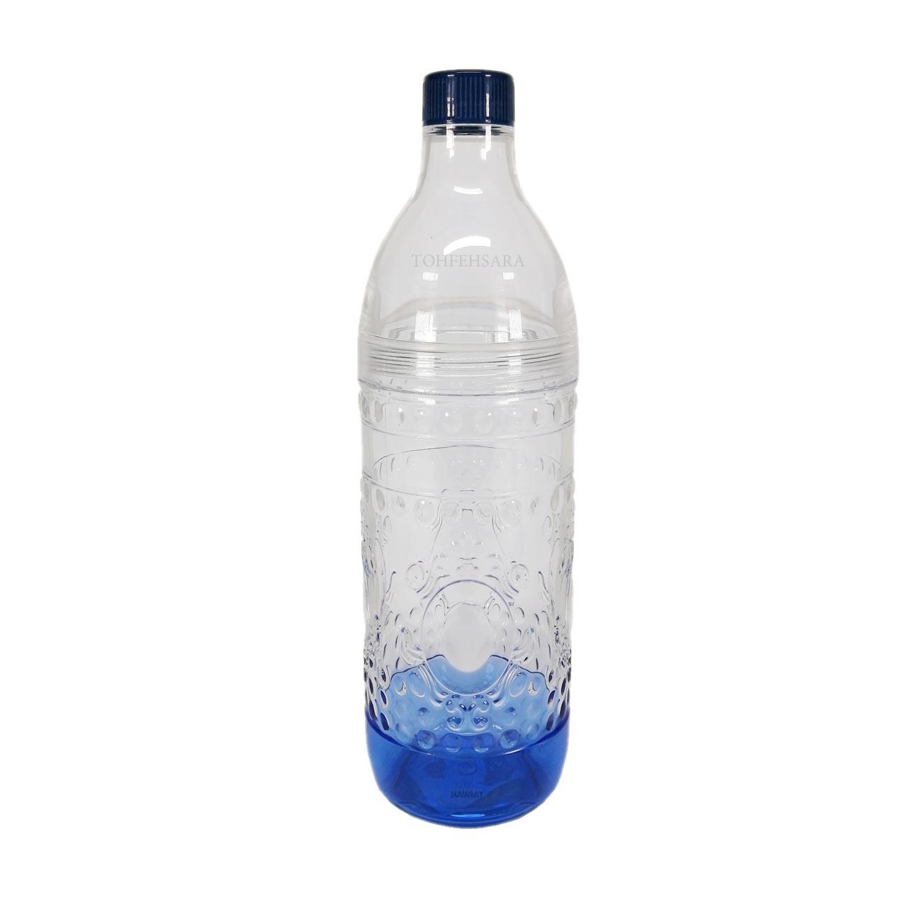 بطري وسط بازشو کف رنگي
