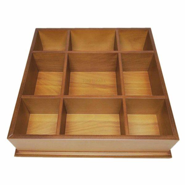 جعبه پذیرایی مربع بزرگ پی تی سی
