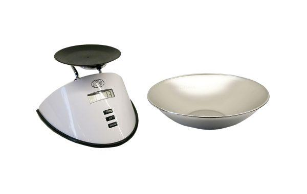 ترازوی آشپزخانه هرمی سفید